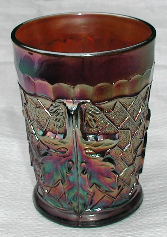 Maple Leaf amethyst tumbler