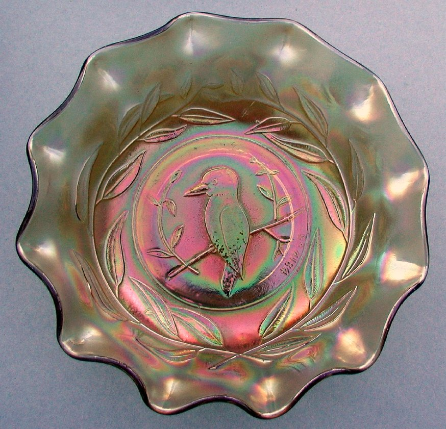 "Kingfisher 9"" master bowl marigold"