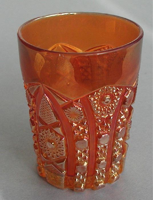 Octagon tumbler marigold