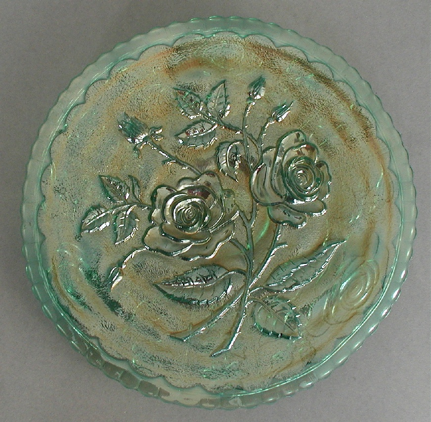 Open Rose plate, helios