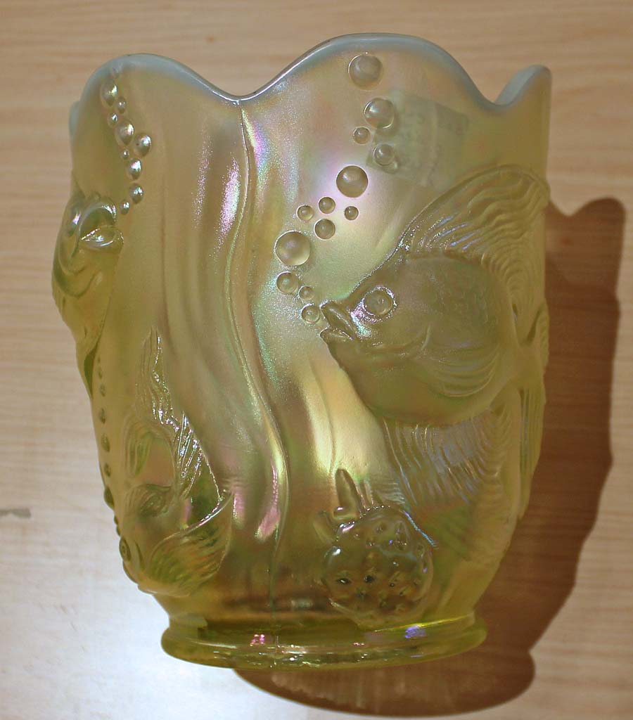 Atlantis vase by Fenton