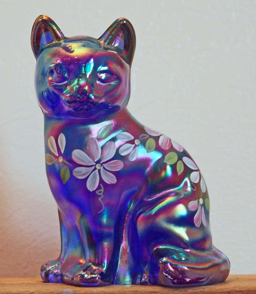 Fenton cat, blue