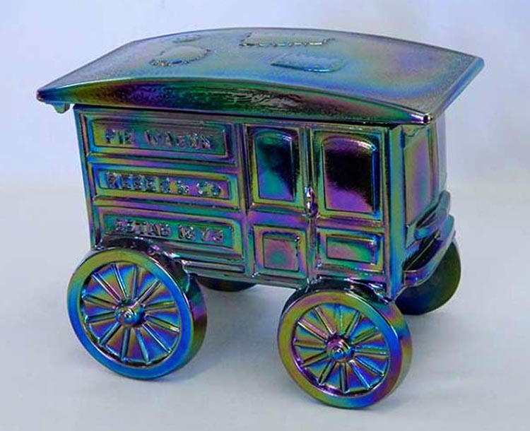 Covered Pie Wagon - purple contemp