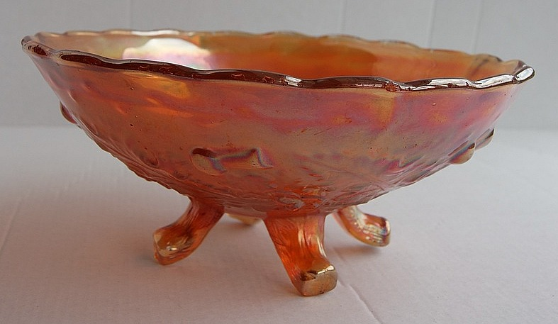 Thistle and Thorn bowl in marigold.