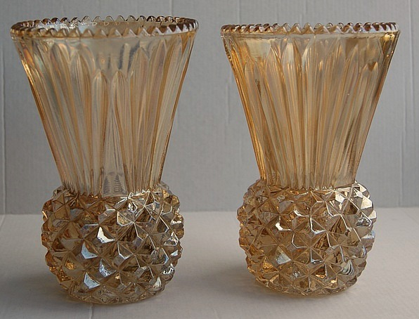 Thistle vase by Canning Town Glass Works