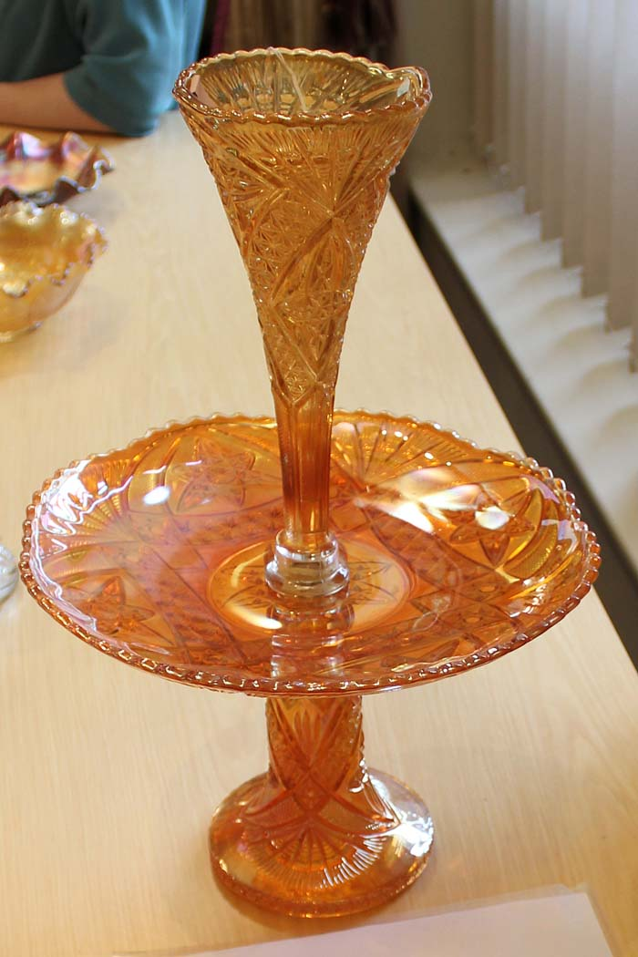 Curved Star epergne, by Brockwitz