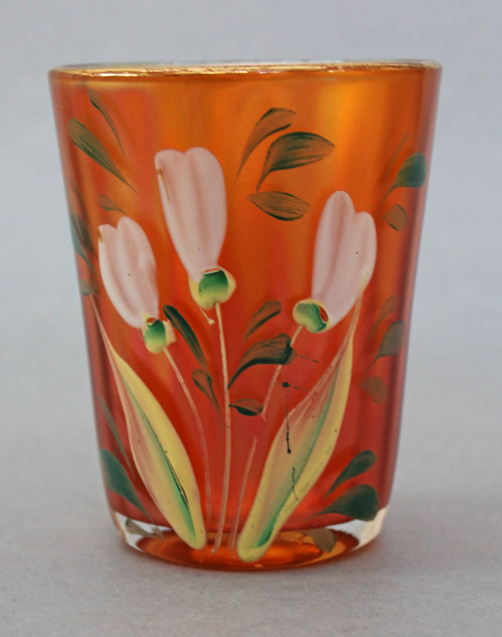 (Enameled) Crocus Variant#1/Enameled Freesia, marigold, Fenton