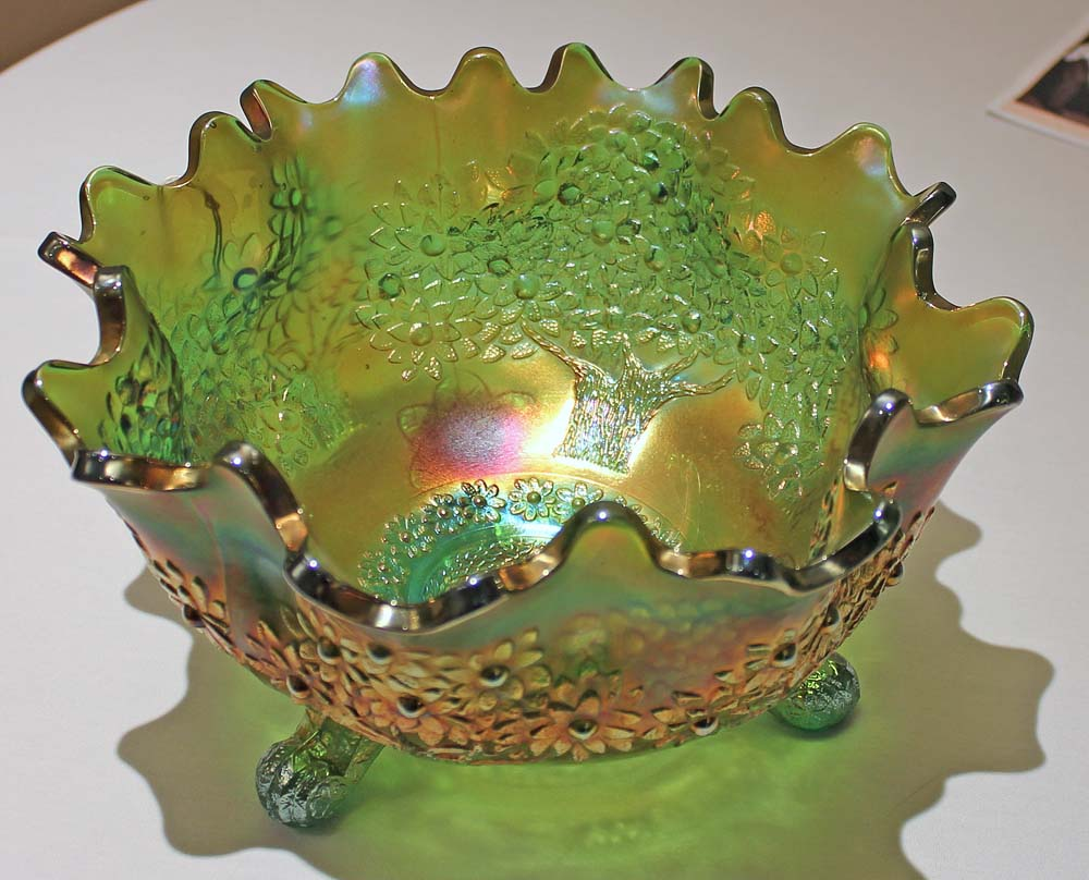 Orange Tree, ftd orange/fruit bowl in green