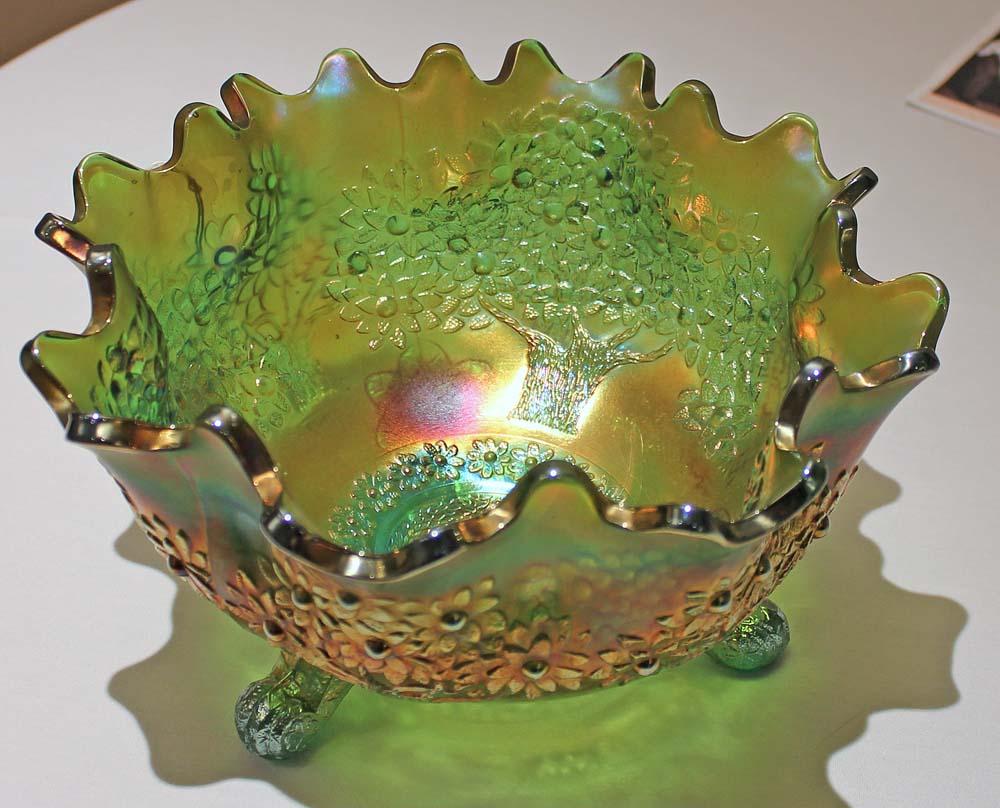 Orange Tree, ftd orange/fruit bowl in green