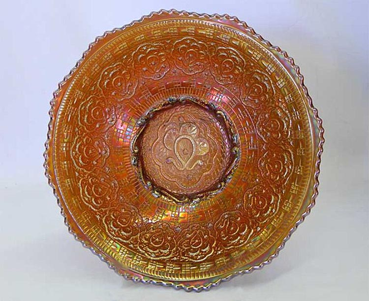 Persian Medallion master berry bowl, marigold