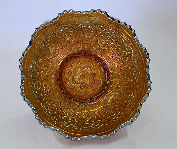 Persian Medallion  sauce bowl, amethyst