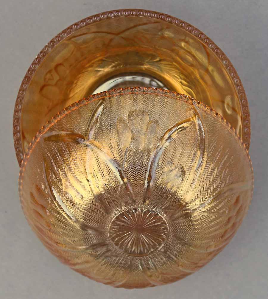 Iris and Herringbone by Jeanette U.S.A