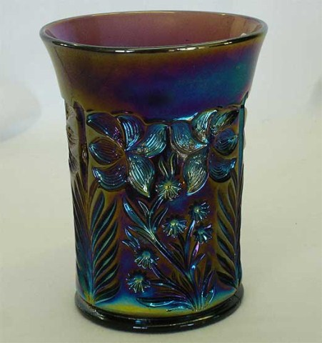 Tiger Lily tumbler in purple
