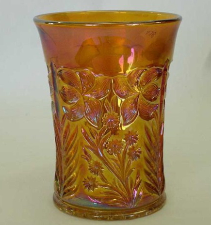 Tiger Lily tumbler in marigold