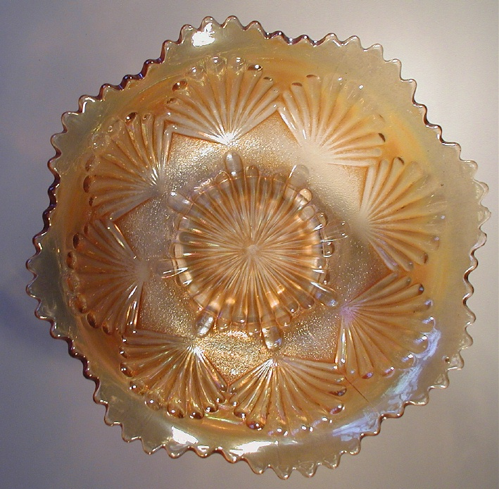 Shell and Sand bowl, pastel marigold