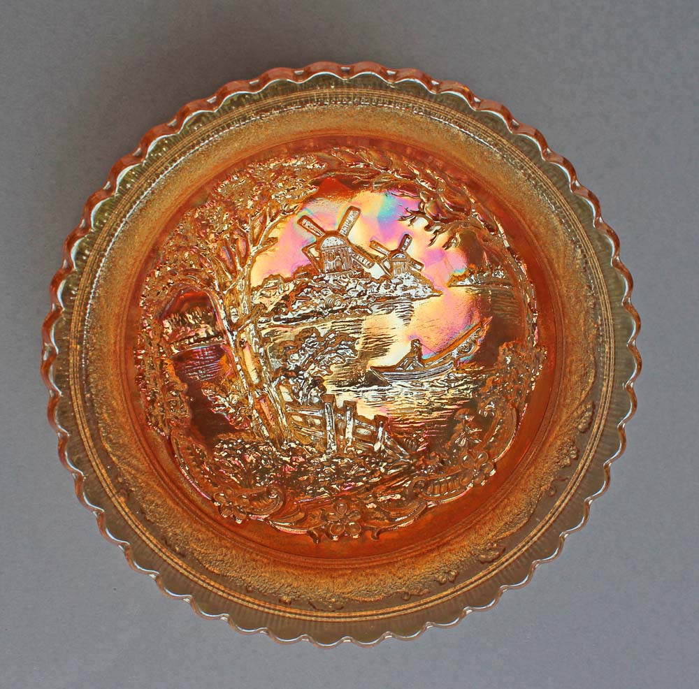 Double Dutch large bowl, marigold
