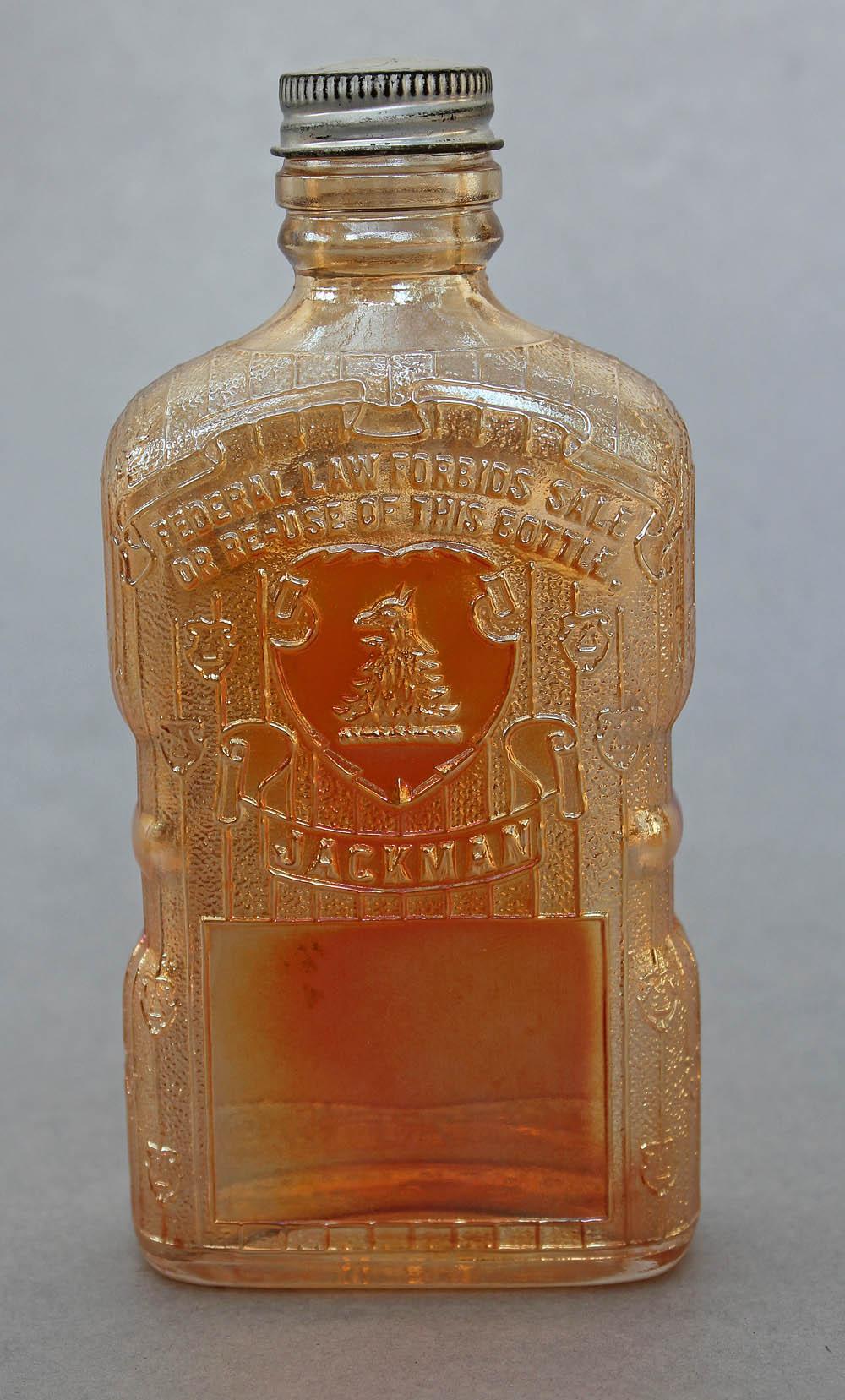 Jackman Whisky Bottle, maker wt ?