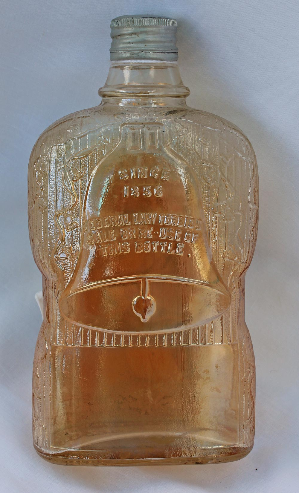 Golden Wedding bottle, maker?