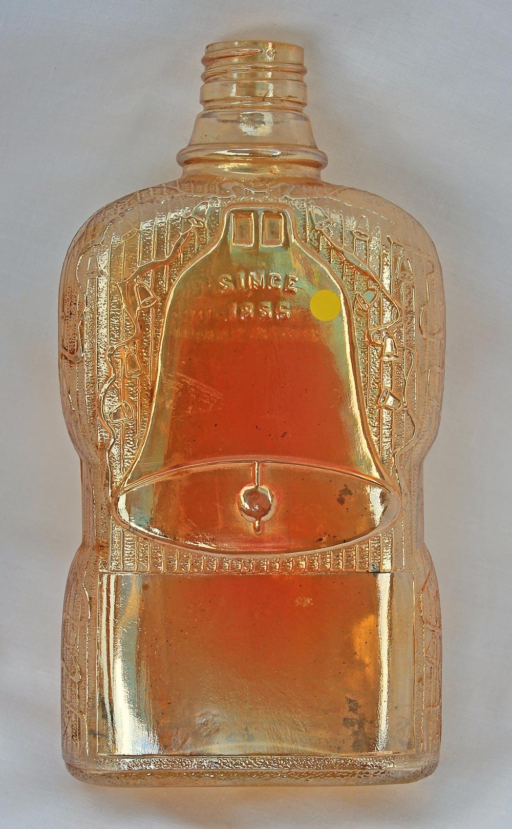 Golden Wedding bottle, maker?