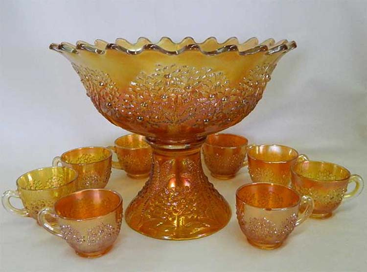Orange Tree 10 pc. round punch set - marigold