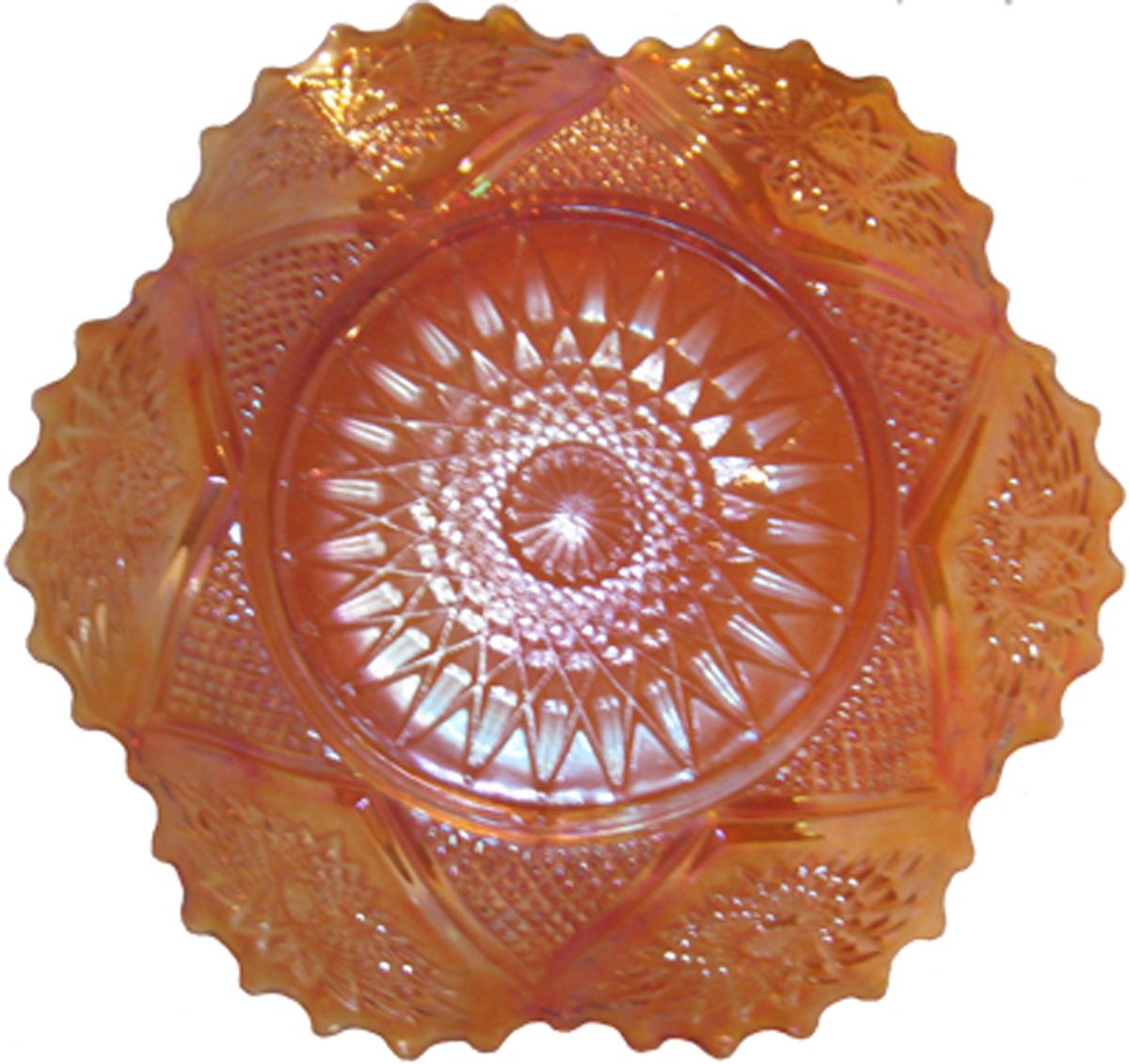 Stellar ruffled bowl -Sowerby