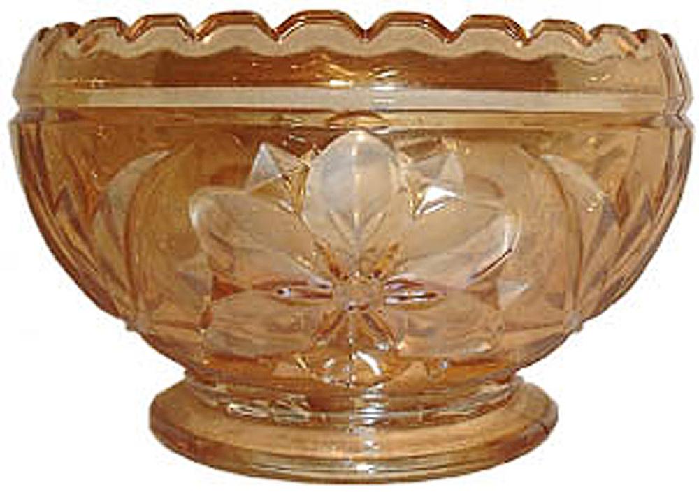 Worcester rose bowl -Sowerby
