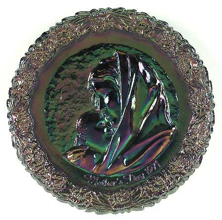 Fenton Mother's Day plate