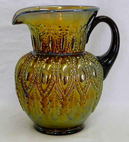 Perfection water pitcher, amethyst