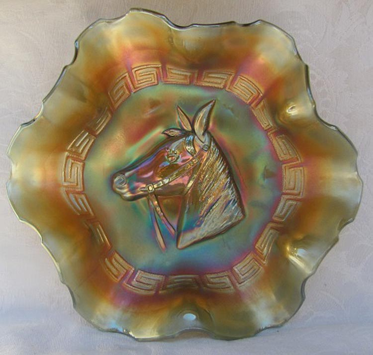 Pony bowl in aqua