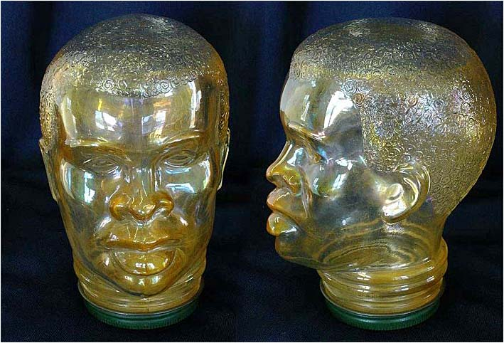 African Head novelty Jars