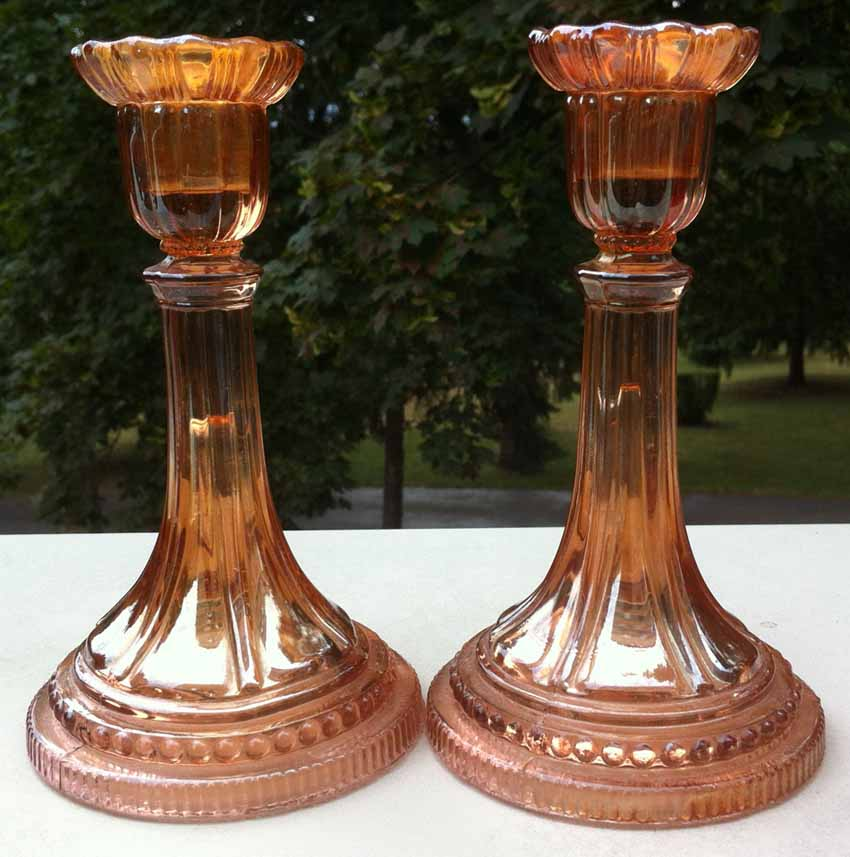 Beaded Dreams candlesticks - Riihimaki