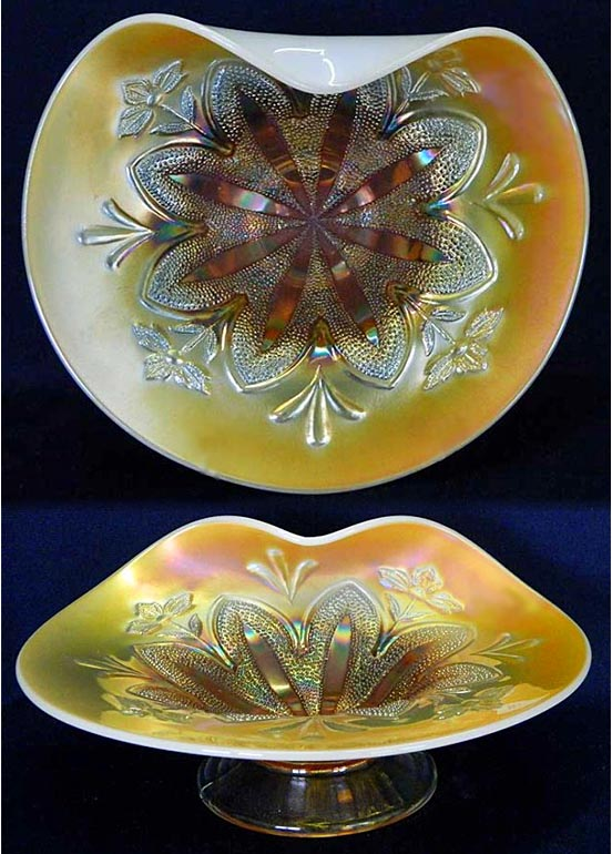 Border Plants dome ftd handgrip plate, peach opal