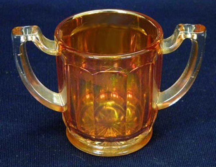Chesterfield toothpick holder, marigold