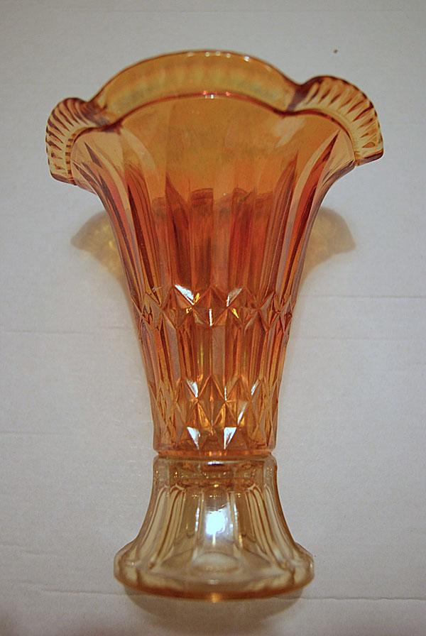 Spears and Diamonds vase, European?