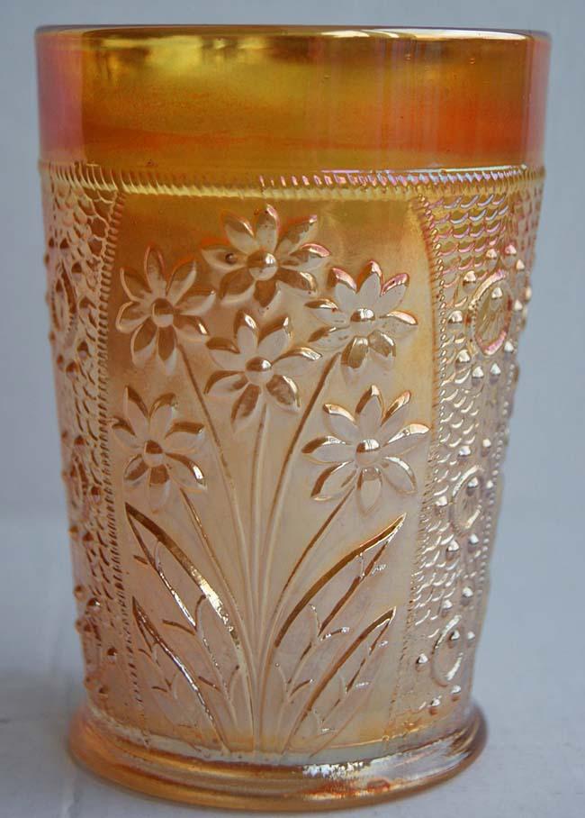 Bouquet tumbler, marigold