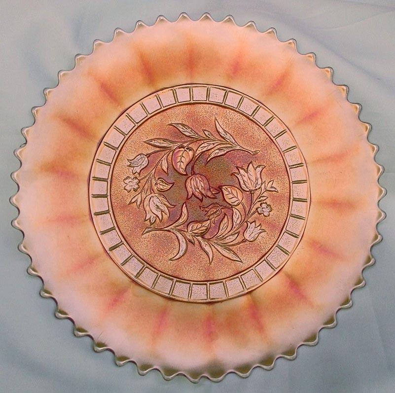 "Windflower 9"" plate in marigold"