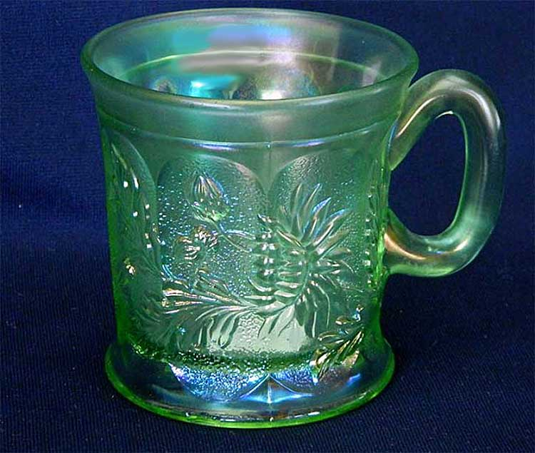 Knights Templar Dandelion mug, ice green, Northwood