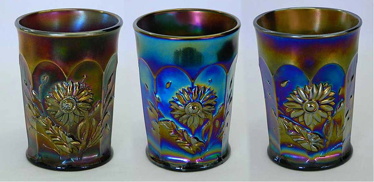 Dandelion tumblers, all purple