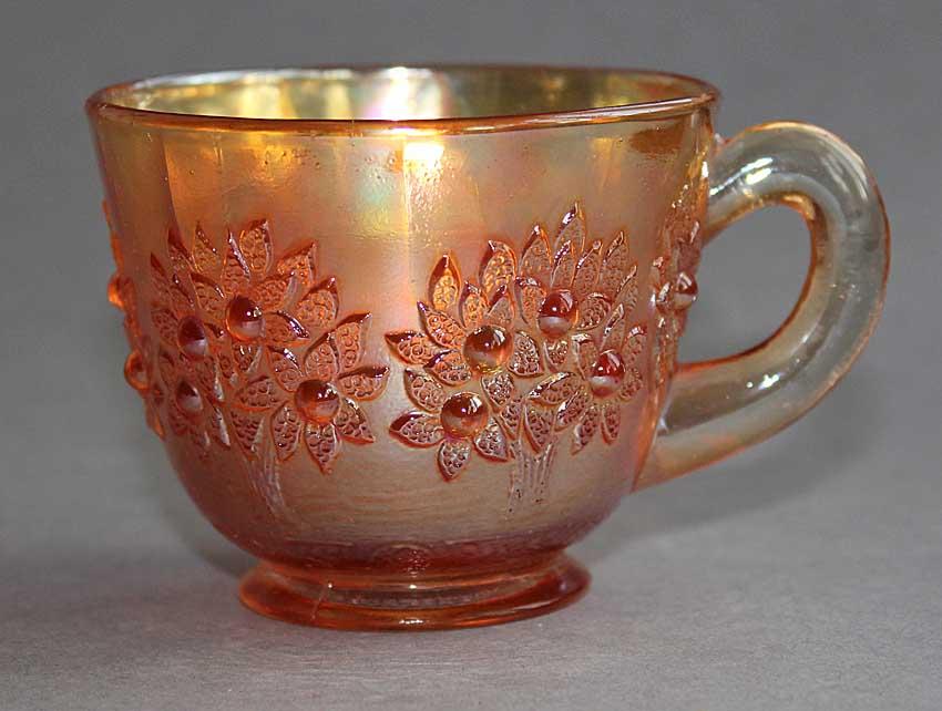 Orange Tree punch cup, marigold