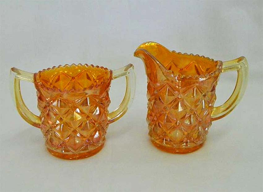 Heavy Diamonds breakfast set, marigold