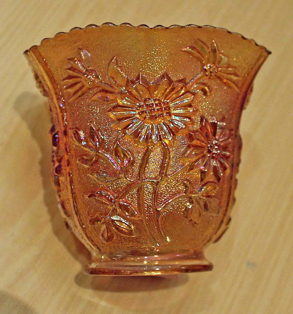 August Flower vase, marigold