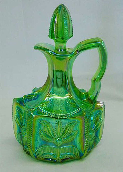 Cactus cruet by Levay (signed) 1978 in green