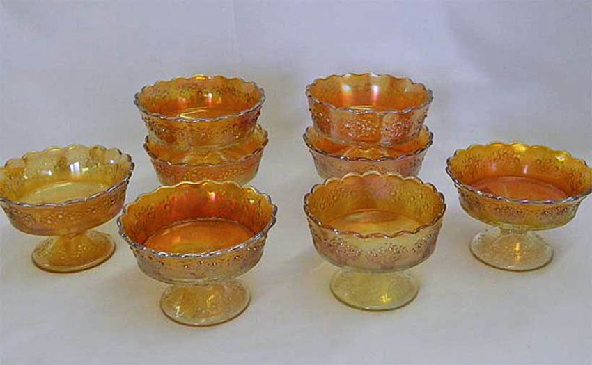 Orange Tree ftd berry bowls, marigold,