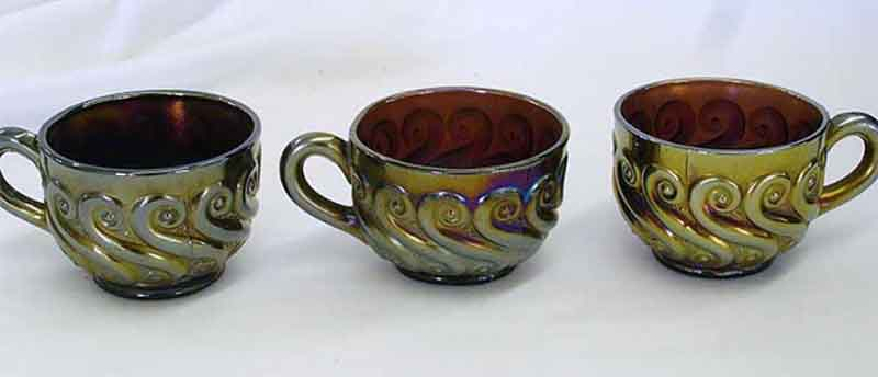 S-Repeat punch cups amethyst