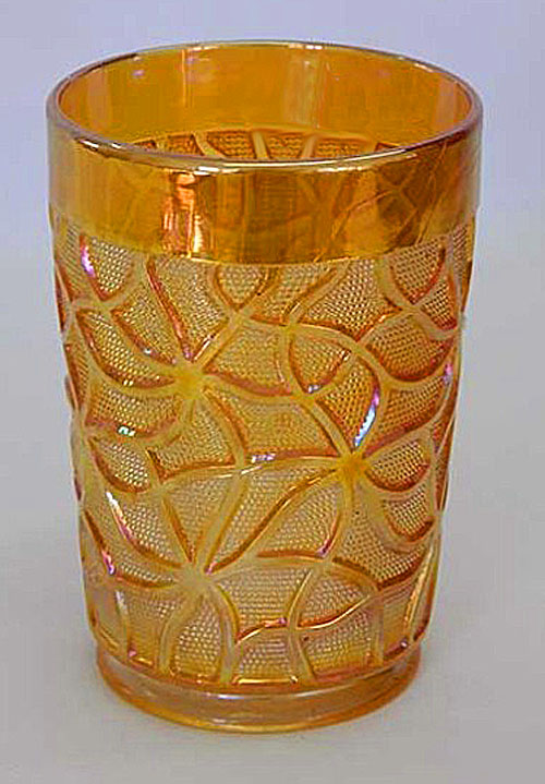 Soda Gold tumbler in marigold